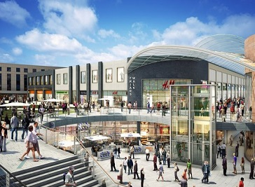 Friars Walk in Newport