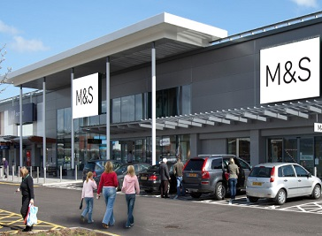 Newport Retail Park in Newport