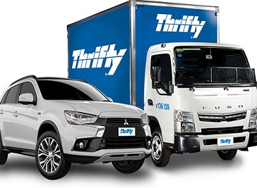 Thrifty Car and Van Rental in Newport